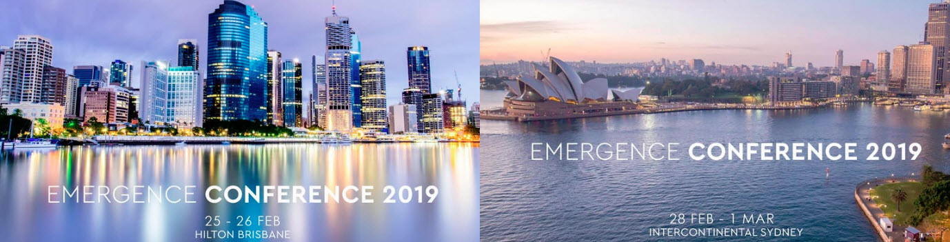 Emergence 2019 Hosted by Wholesale Investor