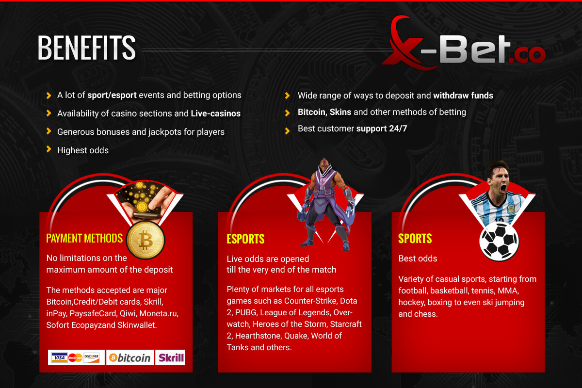 Enjoy bitcoin betting on X-Bet.co!
